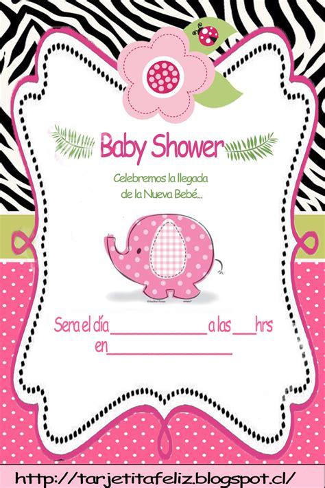 tarjetas de invitacion para imprimir baby shower gratis tarjetas de cumplea 241 os para imprimir baby shower