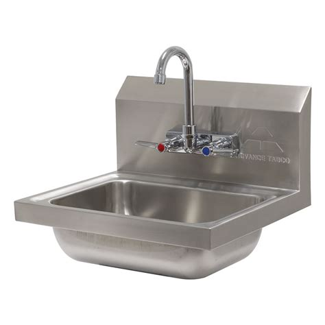 advance tabco sink advance tabco 7 ps 60 wall mount commercial sink w