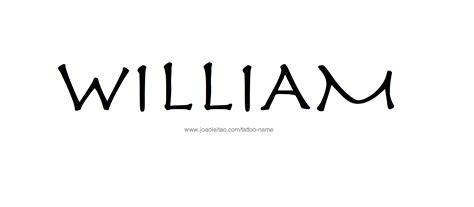 william name designs