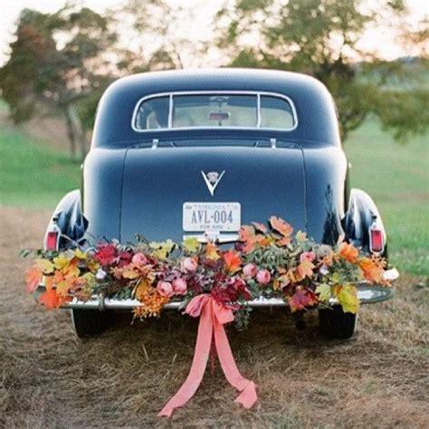 Hochzeitsauto Blumendeko by Blumendeko F 252 R Das Brautauto 1001hochzeiten Wedding