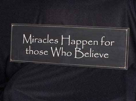 A Miracle positioning yourself for miracles