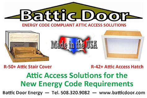 Irc Section 402 by Aecinfo News Product From Battic Door Energy