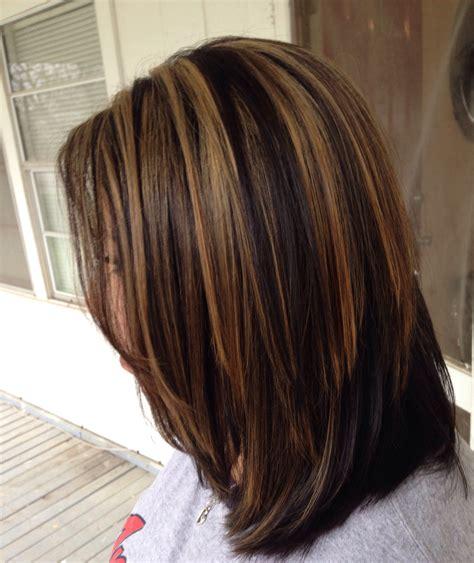 haircuts with color and highlights carmel highlights hair pinterest hair coloring hair