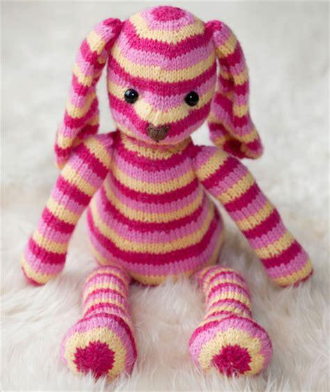 bunny knitting pattern free bunny rabbit knitting patterns in the loop knitting