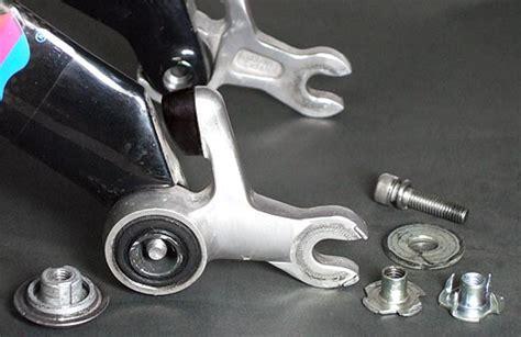 aero swing 電機絵師の隠居生活 sus21のロードバイク用軽量サスペンション
