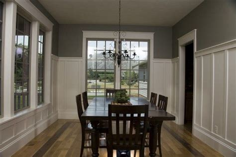 Wainscoting Height Dining Room by Wainscoting For Dining Room With Gray