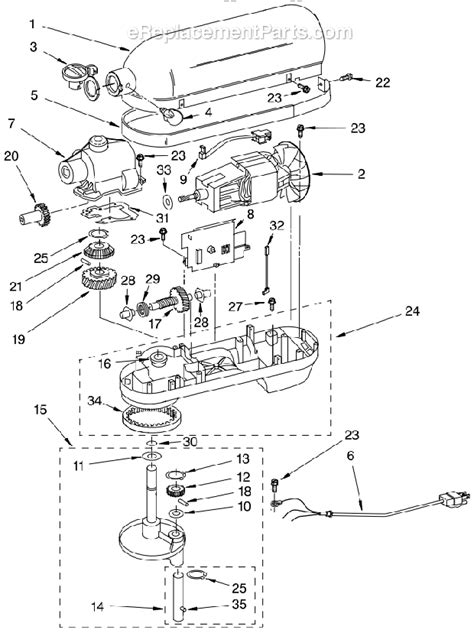 saeco royal professional parts diagram part diagrams