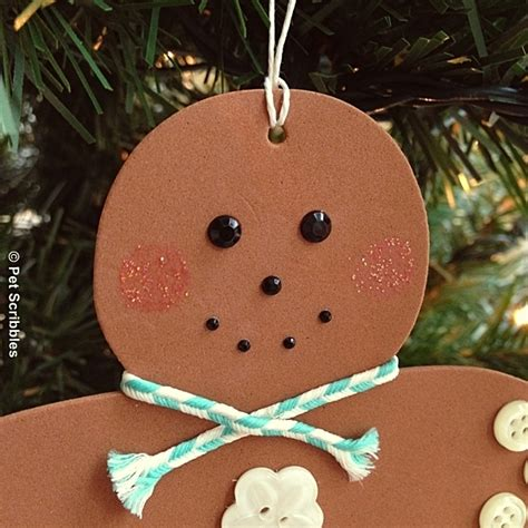 how to make medium size ornaments out of construction paper how to make gingerbread ornaments out of foam s hometalk