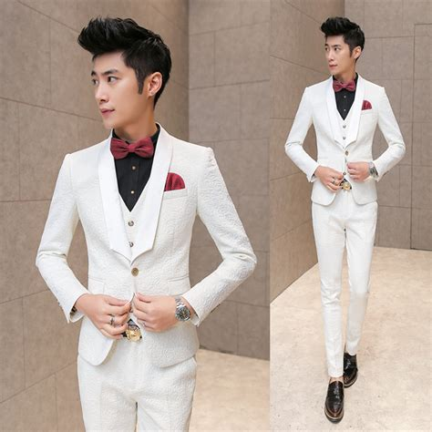 white tuxedo suit for a 1 year old aliexpress com buy 3 piece mens tuxedo suits tuxedos for