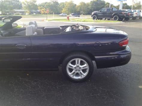 97 Chrysler Sebring by Find Used Only 44023 97 Chrysler Sebring