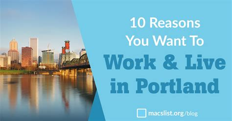 10 Reasons To Work by 10 Reasons You Want To Work And Live In Portland Oregon