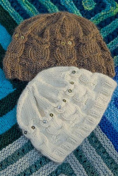 knitting pattern owl hat owl hat owl and ravelry on pinterest