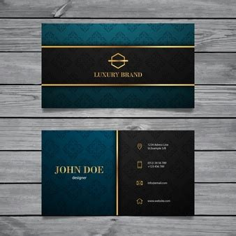 Classy Vectors Photos And Psd Files Free Download Luxury Business Card Template