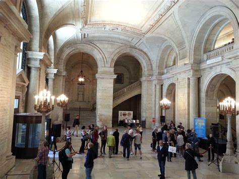 New York Library Interior by Checking Out And The City Locations At The New