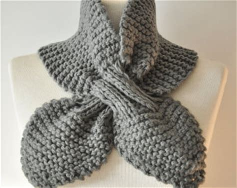 ascot scarf knitting pattern free crochet patterns keyhole scarves squareone for