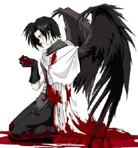 imagenes amor anime wild wings anime boy with wings anime guy w wings anime gore