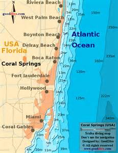 coral springs map gooddive