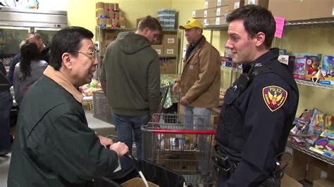 Highland Il Food Pantry by Officers Distribute Meals At Food Pantry
