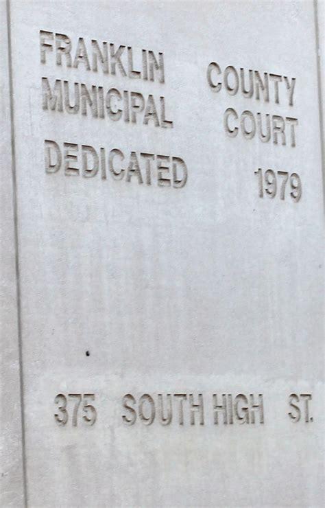Franklin County Ohio Municipal Court Records Franklin County Municipal Court Riddell Llc