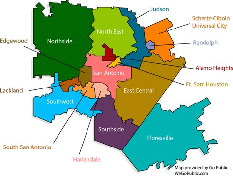 texas isd map districts gopublic