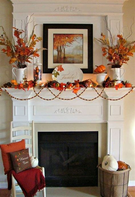 fall mantel decor diy fall mantel decor ideas to inspire landeelu