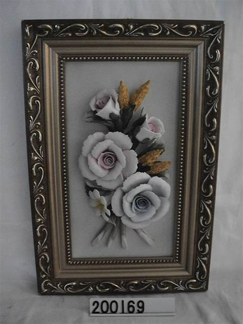 Handmade Ceramic Photo Frames - pottery handmade painting ceramic porcelain frame