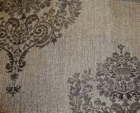 Fabric By The Yard Upholstery by 55 Quot Wide Damask Metallic Sparkle Upholstery