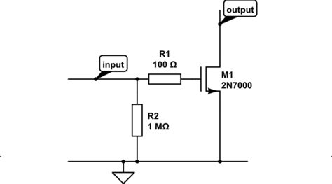 mosfet gate resistor equation mosfet gate resistor vs gain electrical engineering stack exchange