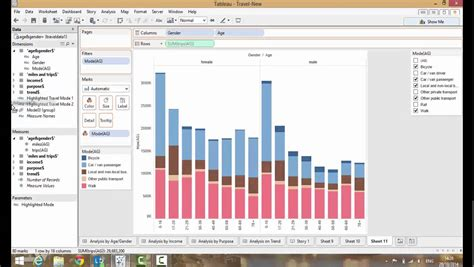 tableau software tutorial ppt tableau creating dashboards and presenting in story mode