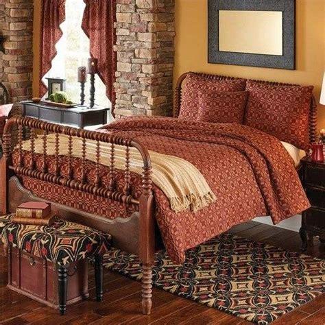primitive bedroom decor primitive bedding sets make your bedroom warm and cozy