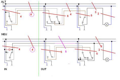 schaltungstechnik wechselschaltung problem