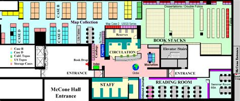 Floor Map Design floorplan earth sciences amp map library university of