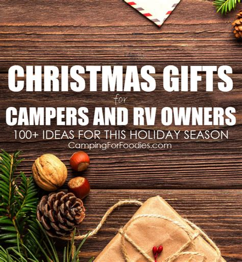 100 totally unique christmas gifts for cers and rv owners