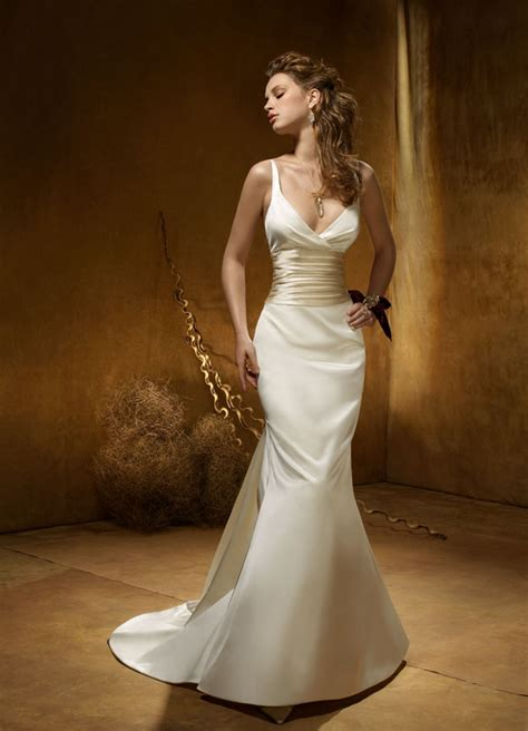 Silk Wedding Dresses by Silk Wedding Dresses Look Stunning In Silk