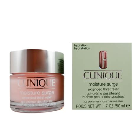 Clinique Moisture Surge Gel Creme Clinique Moisture Surge Extended Thirst Relief 50 Ml Ebay
