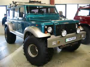 Number plate means exaggerated the body of the defender was literally