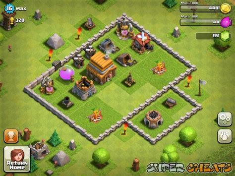 clash of clans layout strategy level 4 base layouts clash of clans