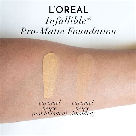 L Oreal Infallible Pro Matte Foundation Shade Golden Beige l oreal cosmetics infallible pro matte foundation