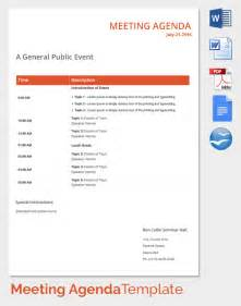 event agenda template meeting agenda template 46 free word pdf documents