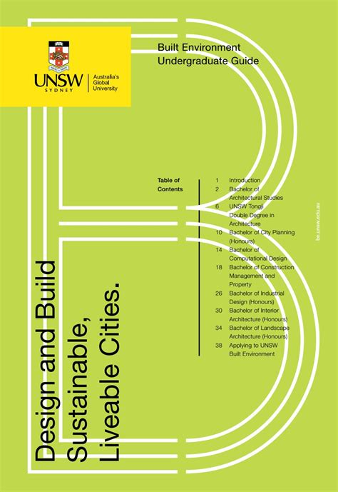design management unsw unsw built environment undergraduate guide 2017 by unsw
