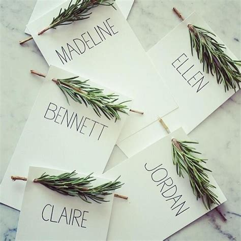 diy name cards 13 amazing diy name card ideas