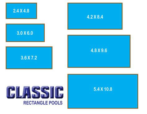 standard swimming pool size 28 images waterwell pool specifications the serenity series