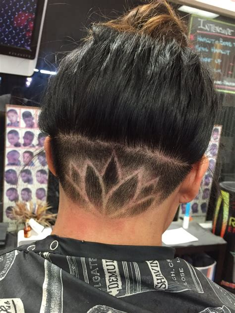 cutting nape hair on men under nape cut lotus flower cut by e t yelp