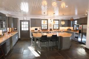 High Ceiling Kitchen Design Farm House 1 Farmhouse Kitchen Philadelphia By Kitchens By Design