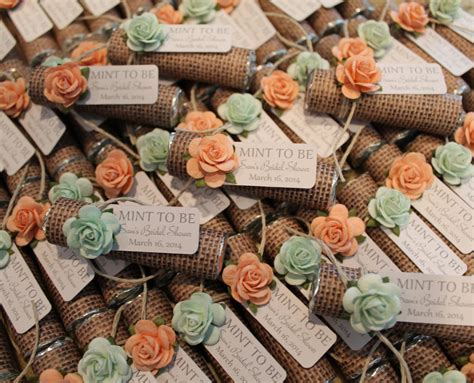 Wedding Giveaways 2014 - unique mint wedding favors modwedding