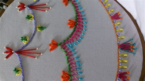 Handmade Embroidery Stitches - embroidery stitches tutorial for beginners stitches