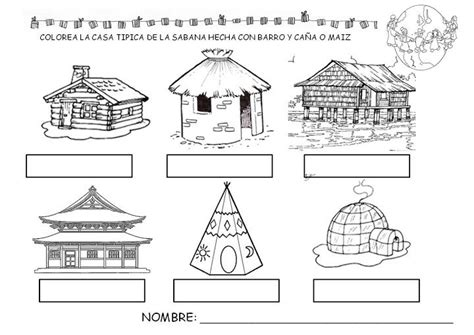 coloring pages of homes around the world la vuelta al mundo espe 2 2 picasa web albums mundo