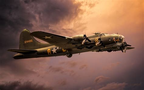 Boeing B-17 Flying Fortress Full HD Wallpaper and ... B 17 Flying Fortress Wallpaper