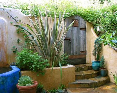 mexican garden mexican style garden designs and yard landscaping ideas