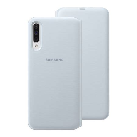 official samsung galaxy  wallet flip cover case white